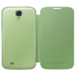 Do Samsung Galaxy S4, etui Flip Cover- ZIELONE
