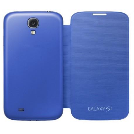 Do Samsung Galaxy S4, etui Flip Cover- NIEBIESKIE