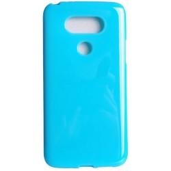 Etui JELLY Case do LG G5 gumowy futerał - BŁĘKITNE