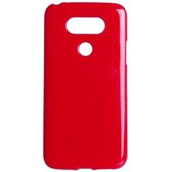 Etui JELLY Case do LG G5 gumowy futerał - CZERWONE
