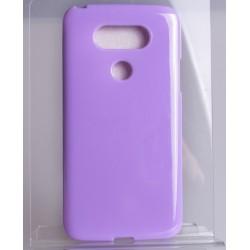 Etui JELLY Case do LG G5 gumowy futerał - FIOLETOWE