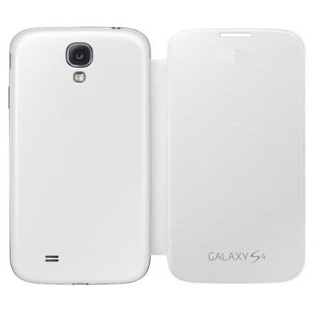 Do Samsung Galaxy S4, etui Flip Cover- BIAŁE