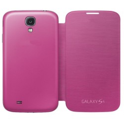Do Samsung Galaxy S4, etui Flip Cover- RÓŻOWE
