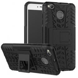 Etui Xiaomi Redmi 4X Pancerne Armor Case Guma- CZARNE