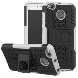 Etui Xiaomi Redmi 4X Pancerne Armor Case Guma- BIAŁE