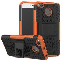 Etui Xiaomi Redmi 4X Pancerne Armor Case Guma- POMARAŃCZOWE