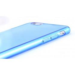 iPhone 6, 6S, etui silikonowe 0,3mm + Folia na ekran- NIEBIESKIE