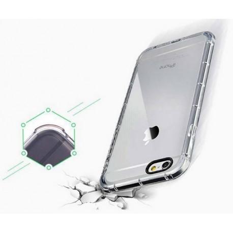 iPhone 6, 6S PANCERNE etui Silikonowe - TRANSPARENTNE