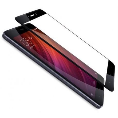 Xiaomi Redmi 4X Szkło Hartowane PEŁNE 3D na Cały ekran - CZARNE