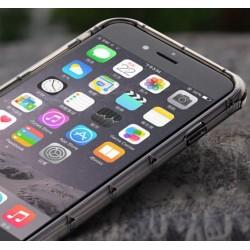 iPhone 6, 6S PANCERNE etui Silikonowe - GRAFITOWE