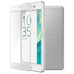 Sony Xperia XA Szkło Hartowane PEŁNE na Cały ekran - BIAŁE