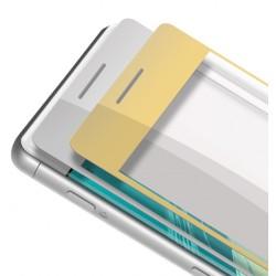 Sony Xperia XA Szkło Hartowane PEŁNE na Cały ekran - ZŁOTE