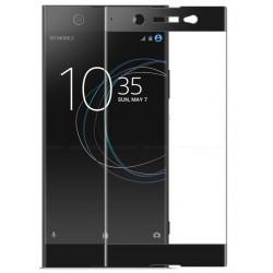 Sony Xperia XZ Szkło Hartowane PEŁNE na Cały ekran - CZARNE