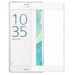 Sony Xperia XZ Szkło Hartowane PEŁNE na Cały ekran - BIAŁE