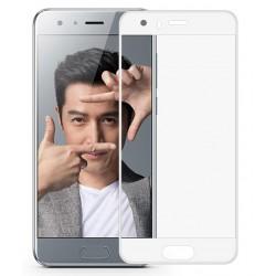 Huawei Honor 9 Szkło Hartowane PEŁNE 3D na Cały ekran - BIAŁE