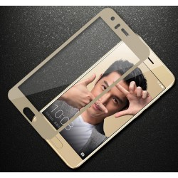 Huawei Honor 9 Szkło Hartowane PEŁNE 3D na Cały ekran - ZŁOTE