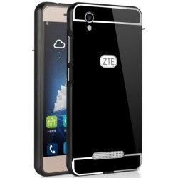 ZTE Blade A452- etui Aluminiowe Bumper Case- CZARNE