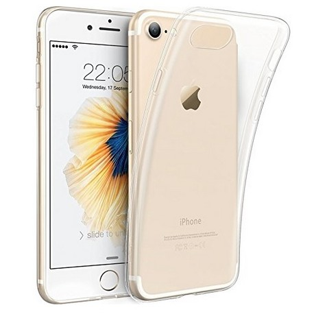 iPhone 8 etui silikonowe klasy PREMIUM guma 0,3mm