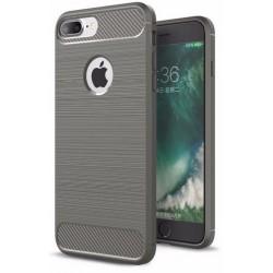 iPhone 8 Plus etui Karbon ARMOR Case Guma- Grafitowe