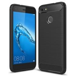 Etui Huawei P9 Lite Mini Karbon ARMOR Case Guma- Czarne