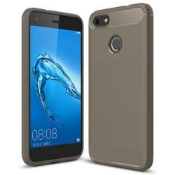 Etui Huawei P9 Lite Mini Karbon ARMOR Case Guma- Grafitowe