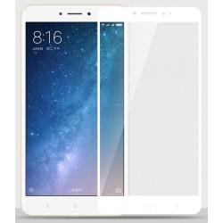 Xiaomi Mi Max 2 Szkło Hartowane PEŁNE na Cały ekran - BIAŁE