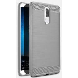 Huawei Mate 10 Lite etui  Pancerne Karbon ARMOR Case Guma- Grafitowe