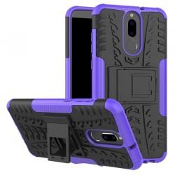 Huawei Mate 10 Lite etui Pancerne Armor Case Guma - FIOLETOWE