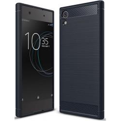 Sony Xperia XA1 PLUS etui  Pancerne Karbon ARMOR Case- Granatowe