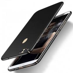 Huawei Honor 7X etui  Silky Touch case na telefon - Czarne