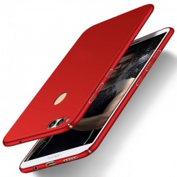 Huawei Honor 7X etui  Silky Touch case na telefon - Czerwone