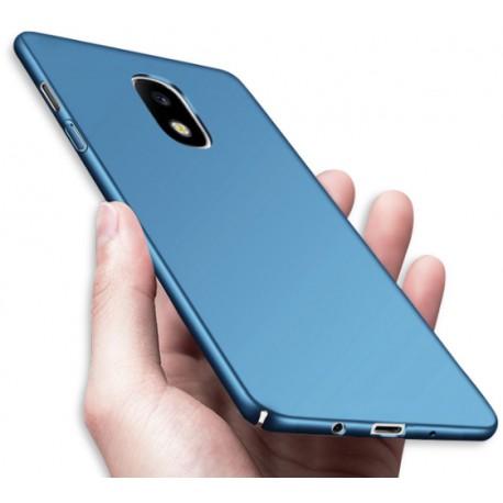 Samsung Galaxy J5 2017 etui  Silky Touch case na telefon - Niebieskie