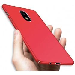 Samsung Galaxy J5 2017 etui  Silky Touch case na telefon - Czerwone
