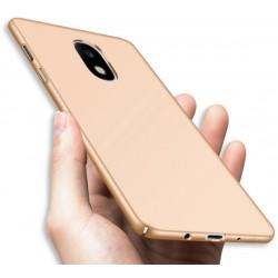 Samsung Galaxy J5 2017 etui  Silky Touch case na telefon - Złote