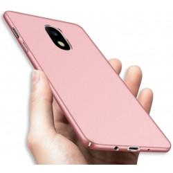 Samsung Galaxy J5 2017 etui  Silky Touch case na telefon - Różowe