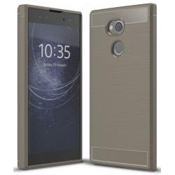 Sony Xperia XA2 etui  Pancerne Karbon ARMOR Case- Grafitowe