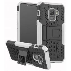 Samsung Galaxy A8 2018 etui Pancerne Armor Case - BIAŁE