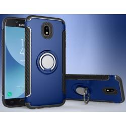 Samsung Galaxy J5 2017 etui  magnetyczne RING HOLDER Niebieskie