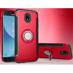 Samsung Galaxy J5 2017 etui  magnetyczne RING HOLDER Czerwone