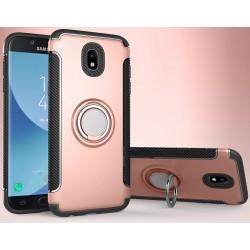 Samsung Galaxy J5 2017 etui  magnetyczne RING HOLDER Różowe
