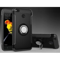 Xiaomi Redmi 4X etui  magnetyczne RING HOLDER Czarne