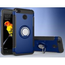 Xiaomi Redmi 4X etui  magnetyczne RING HOLDER Niebieskie