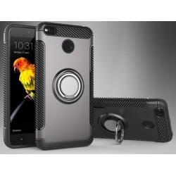 Xiaomi Redmi 4X etui  magnetyczne RING HOLDER Grafitowe