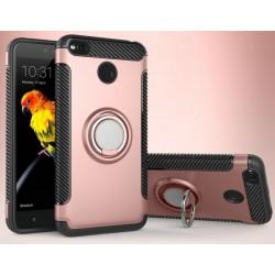 Xiaomi Redmi 4X etui  magnetyczne RING HOLDER Różowe