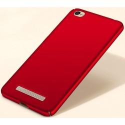Xiaomi Redmi 5A etui na telefon Silky Touch case - Czerwone