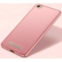 Xiaomi Redmi 5A etui na telefon Silky Touch case - Różowe