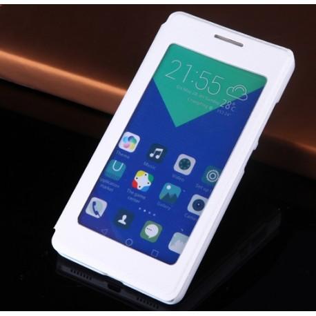 Huawei Honor 7 etui Flip Cover S-View- BIAŁE