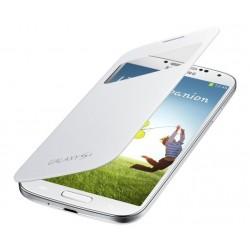 Do Samsung Galaxy S4 etui Flip Cover S-View- BIAŁE