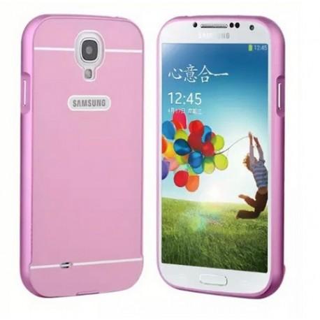 Samsung Galaxy S4, etui Bumper Aluminiowe- RÓŻOWE