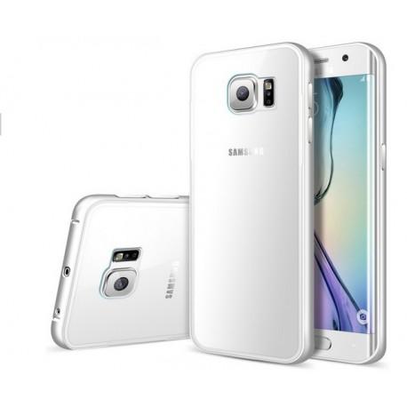 Samsung Galaxy S6 Edge, ekskluzywne etui aluminiowe - SREBRNE